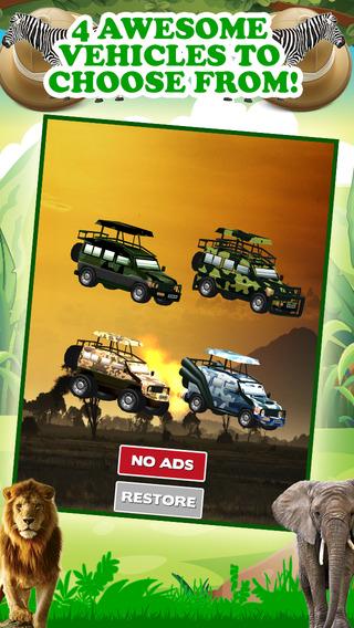 3D野生动物园吉普赛车游戏有无尽的真正的冒险驾 驶模拟器免费