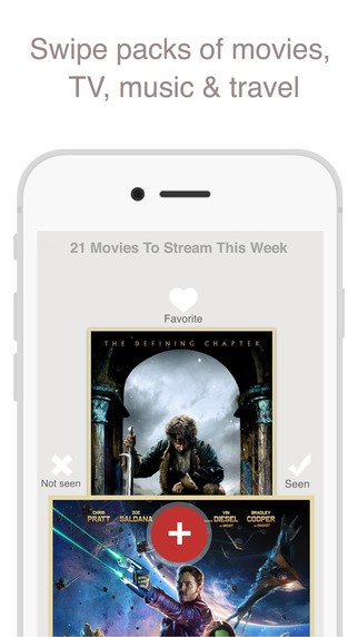 Fabric: Find people who share your interests in movies TV music and travel