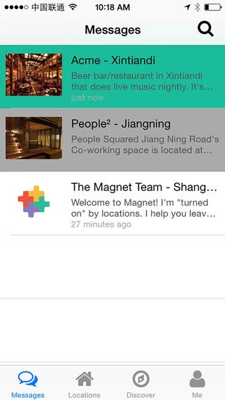 Magnet - Be Present