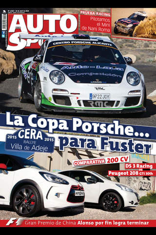 AUTOhebdo SPORT (revista) screenshot 1