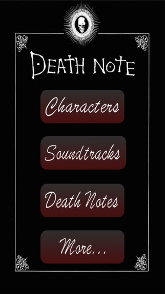 FanApp for Death Note