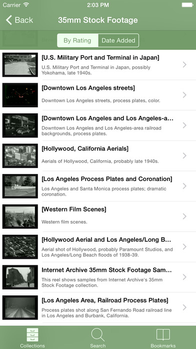 B-Movies iPhone Screenshot 3