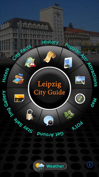 Leipzig Offline Map Travel Guide