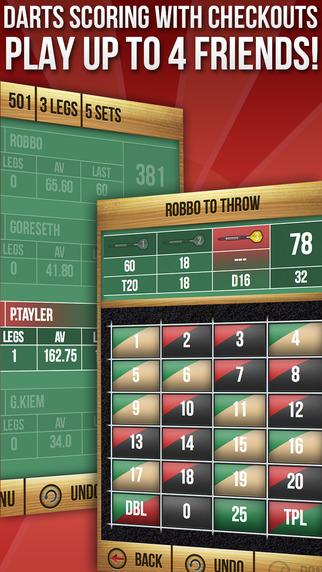 MadHouse Darts Scorer Scorekeeper and Score Board