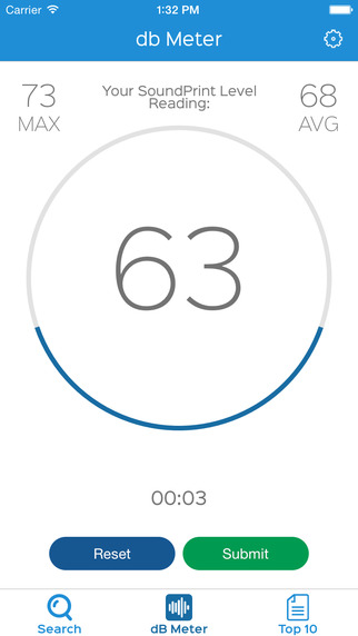 SoundPrint - the decibel meter that finds your quiet place