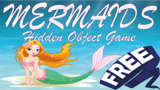 Hidden Objects Game - Mermaids
