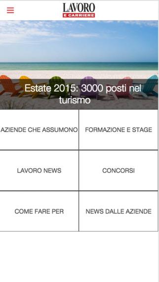 【免費新聞App】Lavoro e Carriere-APP點子