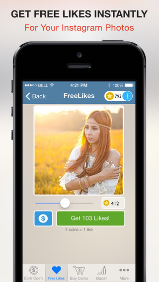 Free Likes for Instagram - Get Real Likes Fast For Photos