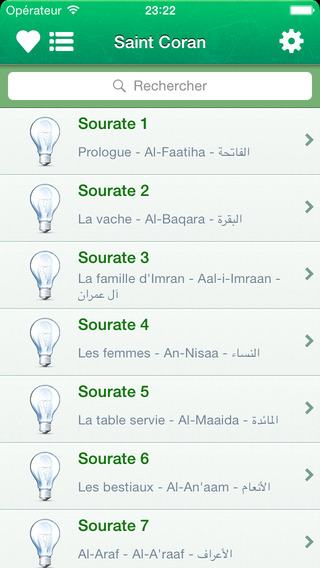 Coran complet en Français en Arabe et en Transcription Phonétique