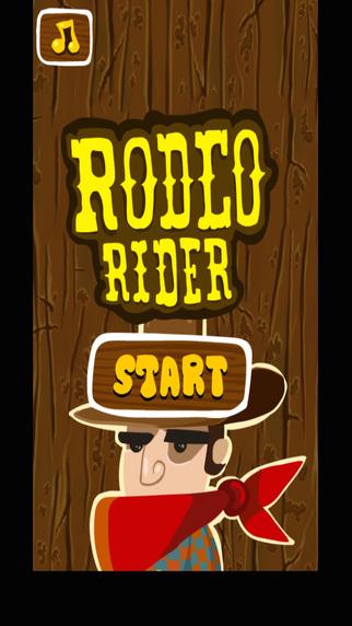 Rodeo Rider Bull Rider