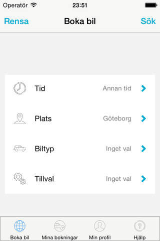 Sunfleet carsharing screenshot 3
