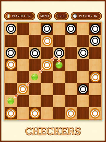 【免費遊戲App】Ultimate Checkers-APP點子