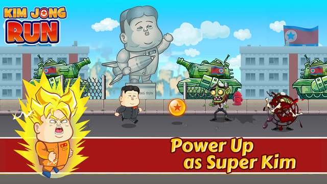 Kim Jong-Un Run - The North Korea Army Game