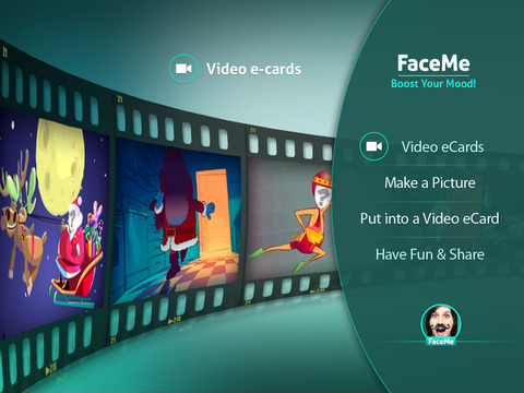 FaceMe Video Booth - Funny Video eCards Starring You!