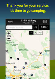 Top Alternative Apps To Good Sam Camping For IPhone IPad - Us military campgrounds and rv parks map
