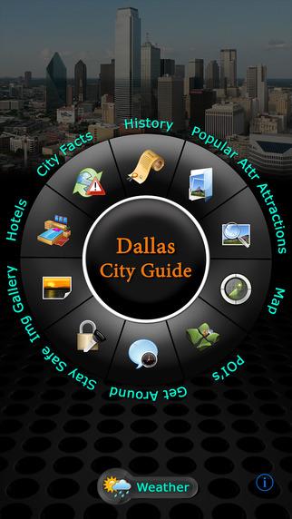 Dallas Offline Map Travel Guide