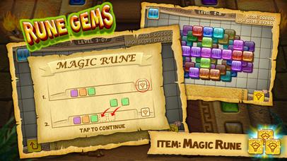 Rune Gems - Deluxe. Скрин 1
