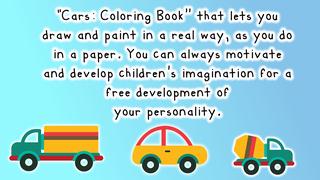 автомобили: книжка-раскраска Скриншоты5