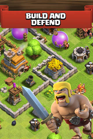 Clash of Clans app screenshot