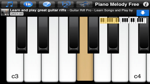 Piano Melody Free - Learn Songs and Play by Ear