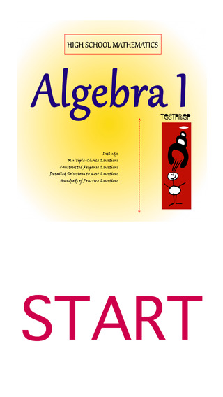 High School Maths: Algebra 1 TestPrep
