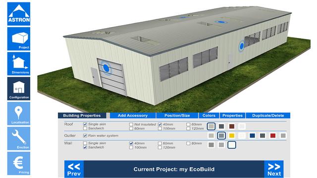 EcoBuild Building Configurator