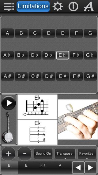 Banjo Chords Lite