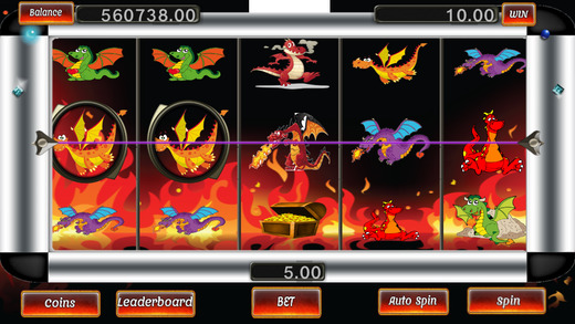 Super Lucky Dragon Slot Machine from Ortrax Studios