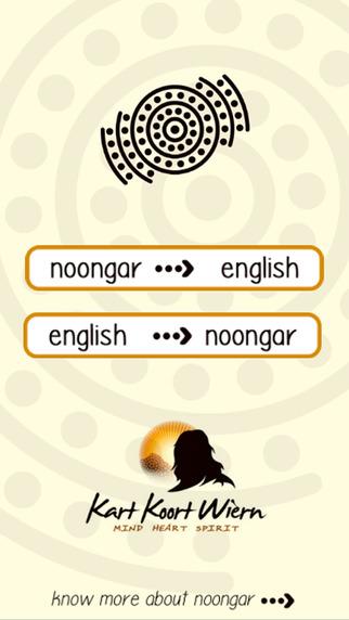 Noongar Language