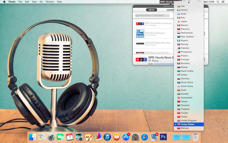 myTuner News Pro – 新闻收听软件[OS X]丨反斗限免