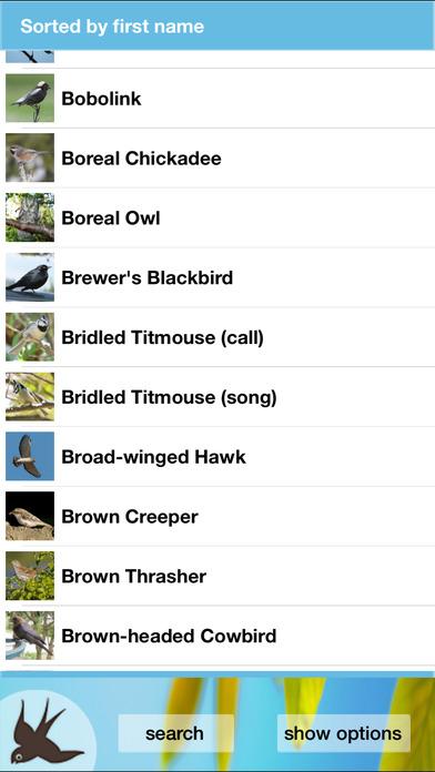 Chirp! Bird Songs USA iPhone Screenshot 5