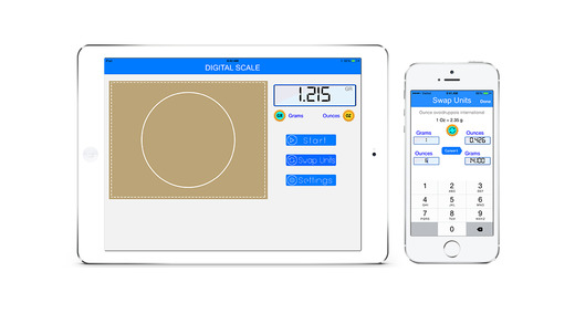 Digital Scale - Simulator Free Game - Pocket Weight Simple Scale