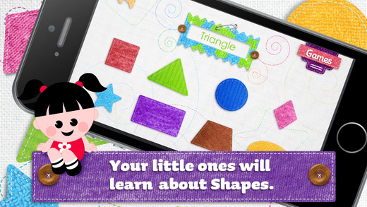 Happy Shapes – Fun educational game for toddlers.