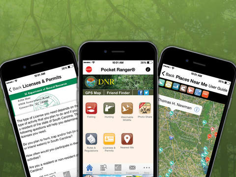 Sc fishing hunting wildlife guide and regulations app for Utah hunting and fishing mobile app