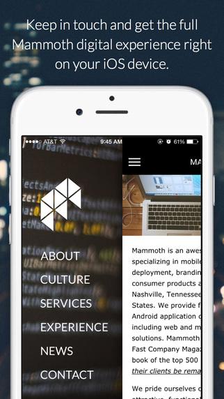Mammoth - Mobile Application Developer