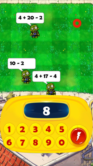 Cool Math Workout - Fun Math Game with Zombies