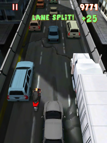 Screenshot 1 Lane Splitter