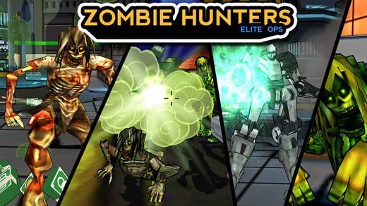 Zombie Hunters 3D: Elite Ops
