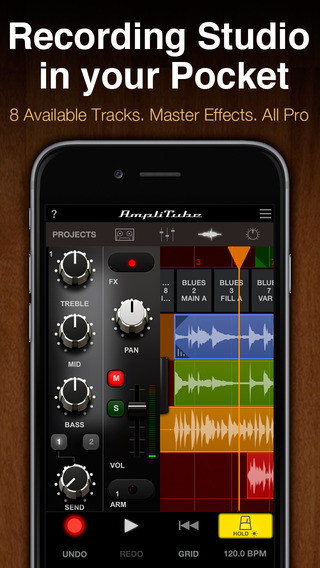 AmpliTube LE iPhone Screenshot 5