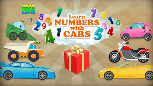 Learn Numbers with Cars for Smart Kids