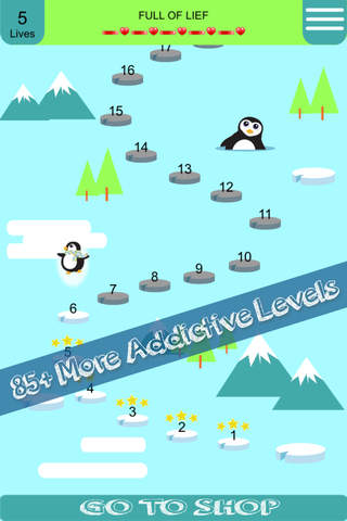 @Arctic Penguin Ices Blast Free - Swipe and match the Penguins to win the puzzle games screenshot 2
