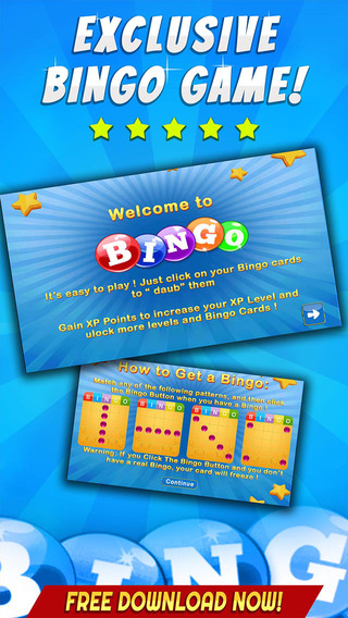 BINGO LET'S GET RICH - Play Online Casino and Gambling Card Game for FREE