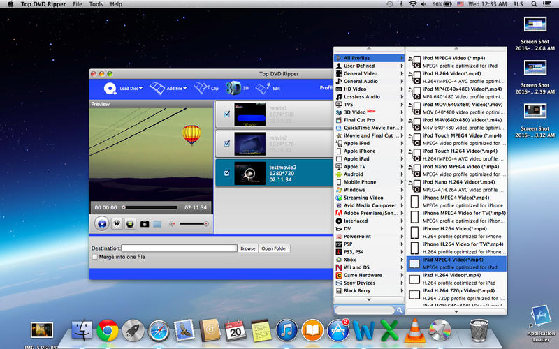 Top DVD Ripper Screenshot - 1