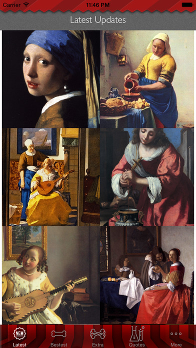 Johannes Vermeer Paintings HD Wallpaper and Inspirational Art Quotes Backgrounds Creator