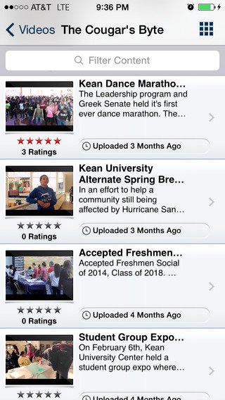 Kean Mobile iPhone Screenshot 3