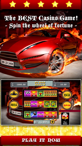 Aaatomic Overdrive Slots PRO - Spin the nitro wheel to earn the airborne price before die