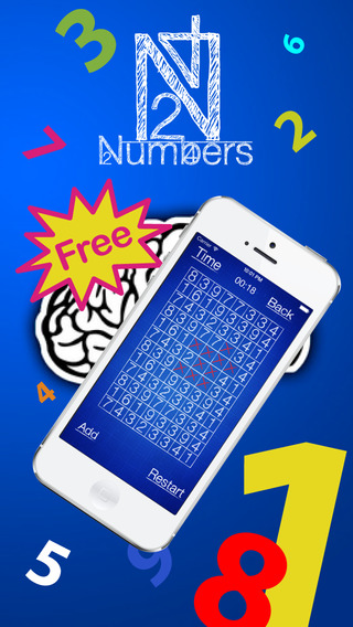 Numbers puzzle - School game - Free