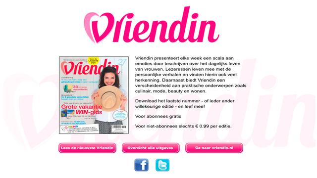 Weekblad Vriendin