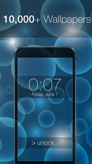 10 000+ LockScreens with ActiveBlur for iOS 8