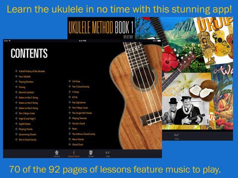 【免費音樂App】Hal Leonard Ukulele Method-APP點子